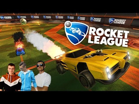 ROCKET League #6 - Szlifujemy forme :D ☆ MrAdamo15, Tanas, MafiaSolec & Bronczek