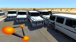 БАНДИТЫ НА ГЕЛИКАХ ПЫТАЮТСЯ ЗАЖАТЬ | BeamNG.drive