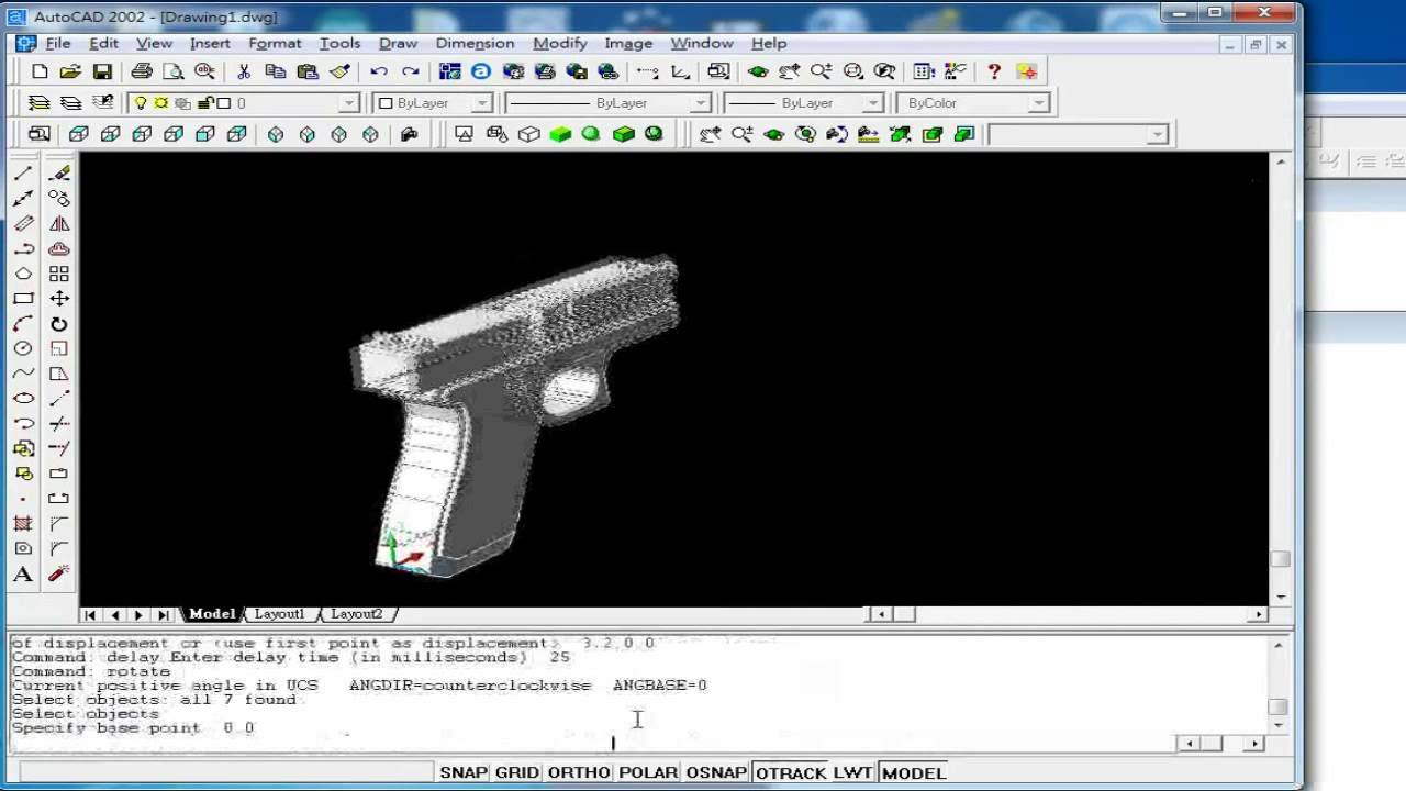 Lisp Scripting Demo - Glock 17 (final report of the CAED course)