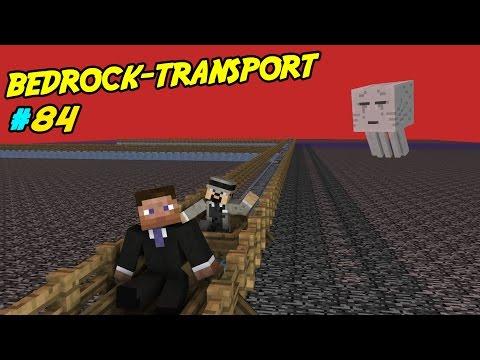 IS-TRANSPORT PÅ BEDROCKEN | Minecraft LP med Softis | #84
