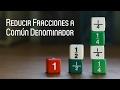 Reducir Fracciones a Común Denominador - MasterD