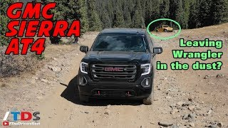 2019 GMC Sierra AT4 - Testing the durability of GMC's newest off-road truck