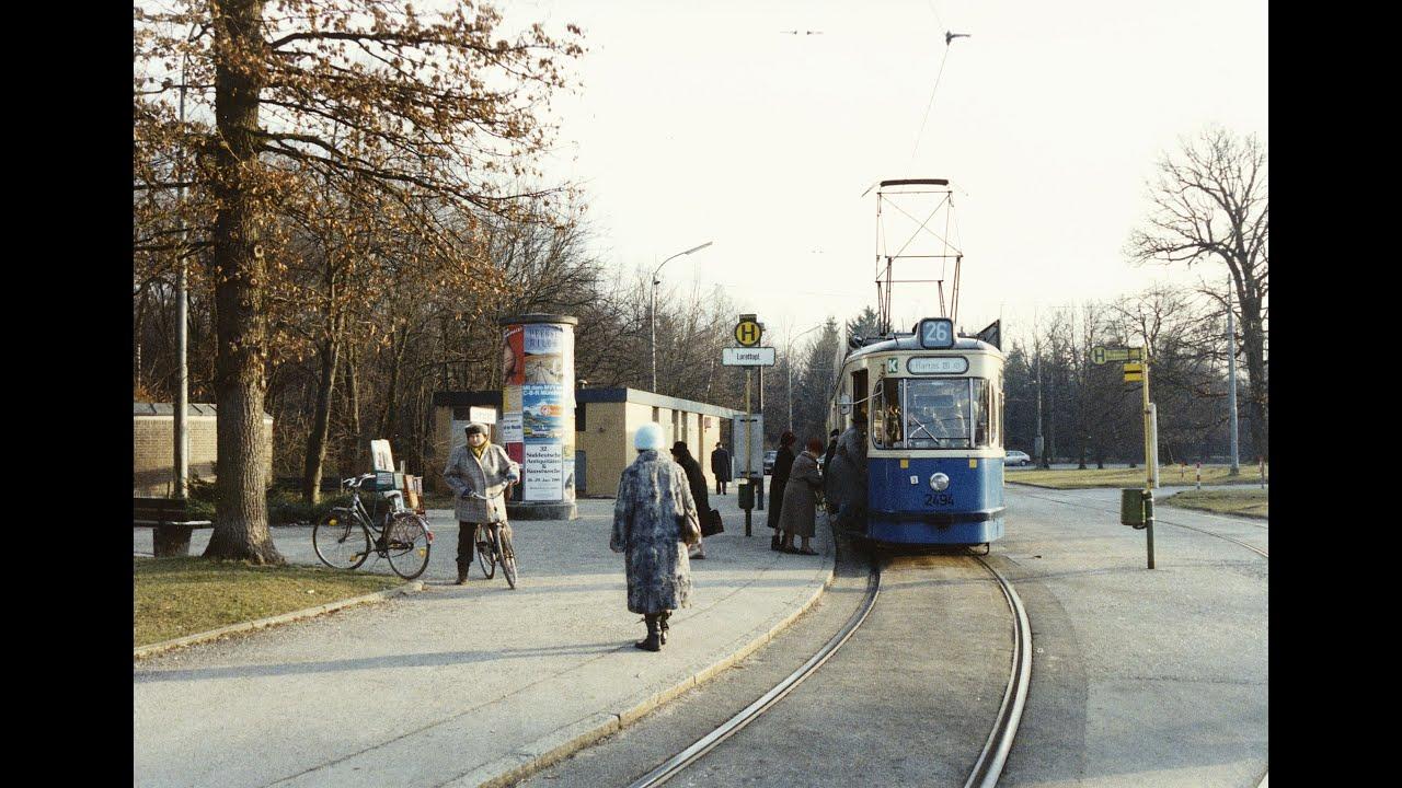 Mit der Linie 26 im Jahr 1993 vom Gondrellplatz zum Lorettoplatz und zurück.