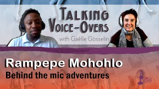 Behind the mic adventures with Rampepe Mohohlo