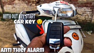 How To Install Anti Theft Alarm in Any Scooter and Motorcycle in 5 Minutes || Technokhan