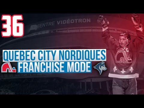 "NHL 17 - Quebec City Nordiques Franchise Mode #36 ""Rebuilding The Land"""
