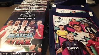 XXL Unboxing Battle Match Attax Champions League Vs Champions League Sticker!!!😍