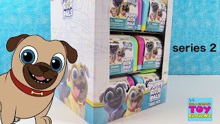 Disney Junior Puppy Dog Pals Series 2 Travel Pets Toy Unboxing Review | PSToyReviews
