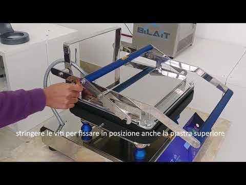 Tartlet machine. Video-tutorial