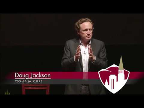 Project C.U.R.E. CEO, Douglas Jackson, Speaks at DU's Voices of Experience