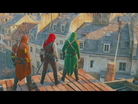CRAZY CO-OP KILLING! (Assassin's Creed Unity Funny Moments)