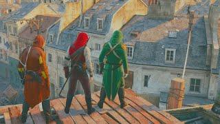 CRAZY CO-OP KILLING! (Assassin's Creed Unity Funny Moments) thumbnail
