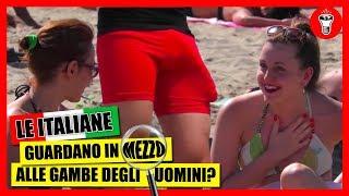 Le Donne Guardano in Mezzo alle Gambe degli Uomini in Spiaggia? - [Esperimento Sociale] - theShow thumbnail