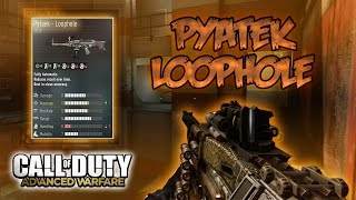 "PYTAEK LOOPHOLE (MODELO ELITE) ""EL REY DE LOS MODELOS"" - COD ADVANCED WARFARE"