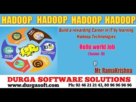 BigData || Hadoop - Hello world Job - Session-10