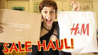 Huge Sale Haul! Zara & H&M !!!
