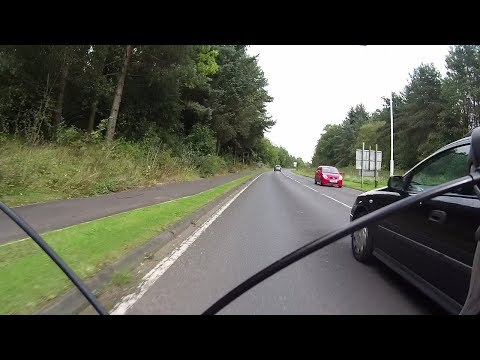 Cycling Fife - Today's dangerous overtakes (NSFG) #OpParamount #OpClosePass