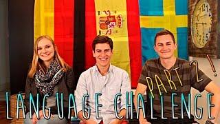 Language Challenge Part 2 (German-Spanish-Swedish)