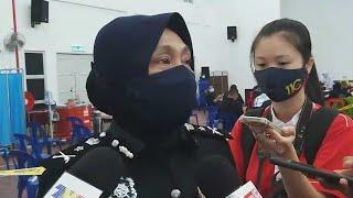 Pegawai dan anggota polis di Perlis serta Kedah terima vaksin