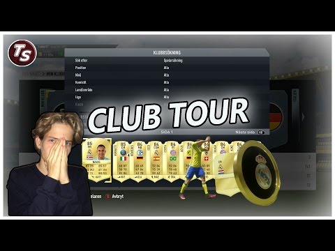 CLUB TOUR FIFA 17 - PÅ SVENSKA