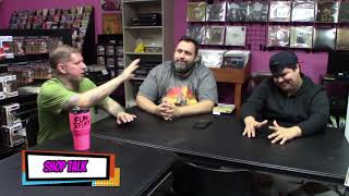 Shop Talk: Farewell to Stephen, and Daryl hangs out! Horror Movie, TV, and Comic Talk!!!