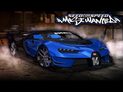 Need for Speed MOST WANTED   2018 Bugatti Vision GT Mod Gameplay [1440p60]
