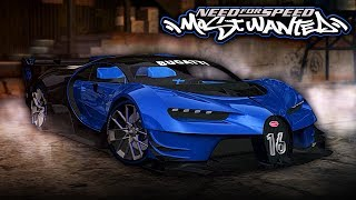 Need for Speed MOST WANTED | 2018 Bugatti Vision GT Mod Gameplay [1440p60]