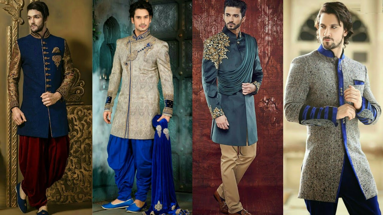 a2f6b115 Indian Ethnic Wear For Men 2017 | Sherwani For Men | Wedding Dress | Party  Wear Collection