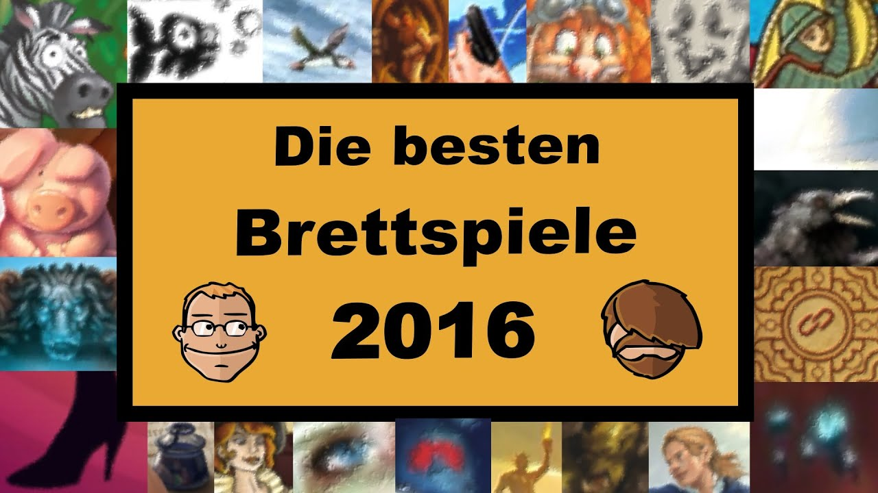 Top Ten Brettspiele
