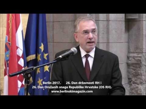 Berlin: Dan državnosti i Oružanih snaga RH 2017.