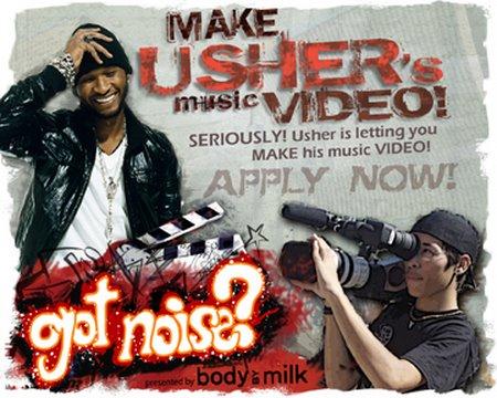 Make Usher's Next Music Video