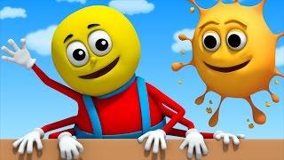 Incy Wincy Spider   nursery rhymes Farmees   children song   3D rhymes   kids songs