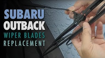How to Replace Wiper Blades | 2010-2014 Subaru Outback