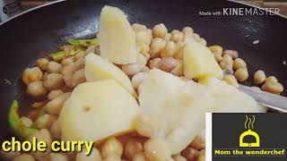 Chole curry dhaba style / How to make chole curry with three simple and easy tips/ Chole recipie