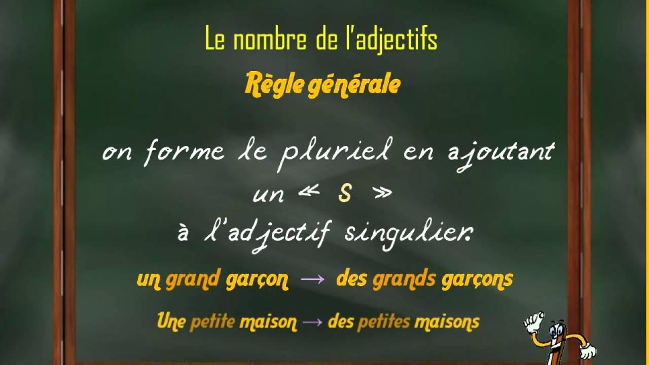 Adjectif Qualificatif Francais 5eme Et 6eme Annee Primaire