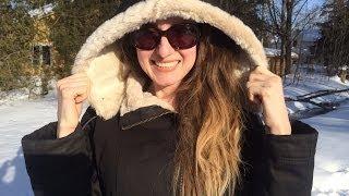 Eco Vegan Fashion: Hoodlamb Winter Jacket Review