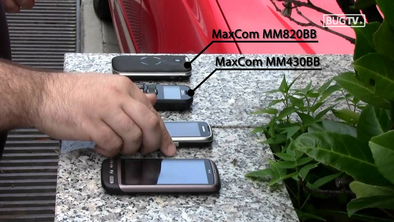 MAXCOM MM820BB INSTRUKCJA DOWNLOAD