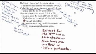 Ode to a Nightingale by John Keats: A Reading, Annotation, and Analysis pt 2 of 2