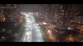 Showreel Night Khabarovsk (Ночной Хабаровск с высоты)
