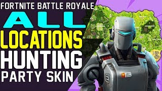 Fortnite ALL SEASON 6 SECRET BATTLE STARS & SECRET BANNER LOCATIONS How to Unlock HUNTING PARTY SKIN