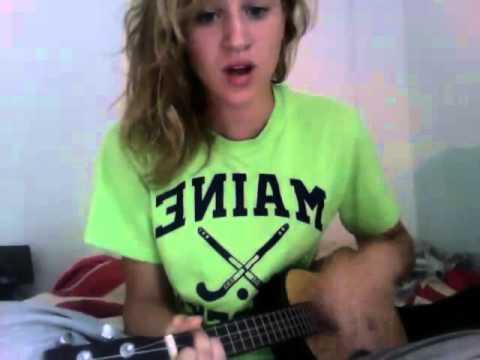 Wrecking Ball Ukulele Cover Miley Cyrus Youtube