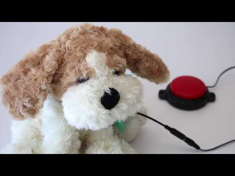 Buttons - Switch Adapted Plush Toy
