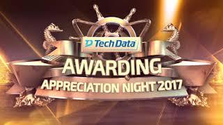 bumper awarding Tech Data Event 2018