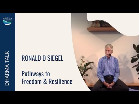 Pathways to Freedom & Resilience - with Ronald D Siegel