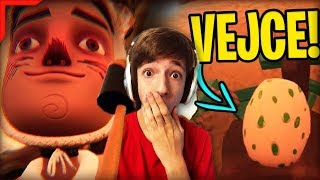 SOUSEDOVO TAJEMNÉ VEJCE!! 😱 🥚 | Hello Neighbor: Hide and Seek | #3  | HN #108