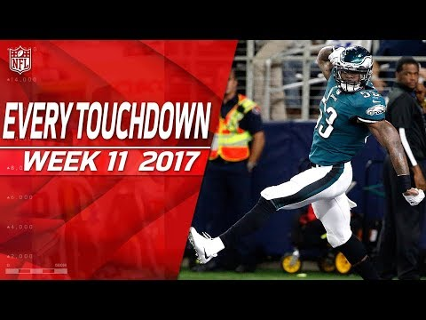 Every Touchdown from Week 11 | 2017 NFL Highlights