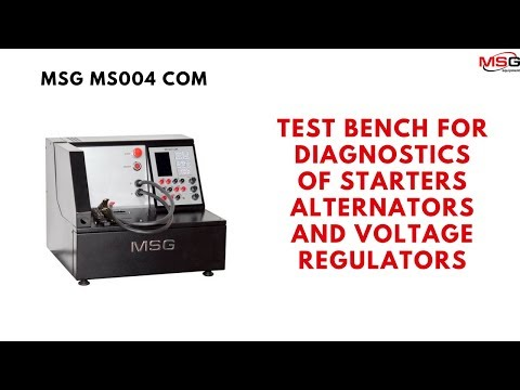 MS004 COM For Diagnostics Of Starters, Alternators And Voltage Regulators