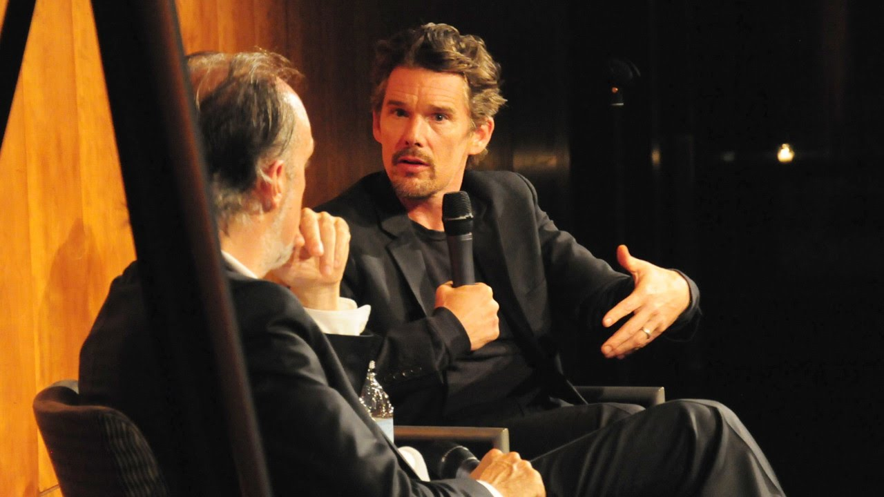 NYFF52 An Evening with Ethan Hawke | Stage vs. Camera