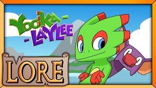 YOOKA-LAYLEE: Banjo-Threeie? | LORE in a Minute! | DaveControlLive | LORE