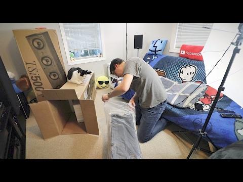 Unboxing My Polk Audio TSi 500 Floorstanding Speakers
